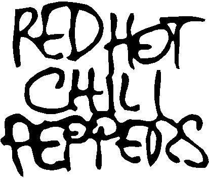 Red Hot Chili Peppers, Vinyl decal sticker