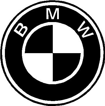 BMW Logo, Vinyl cut decal