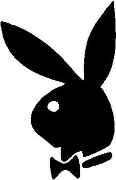 Playboy bunny, Vinyl decal sticker