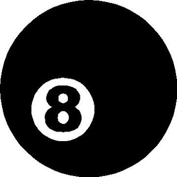 8 Ball, Vinyl decal sticker