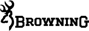 Browning Logo, Vinyl decal sticker