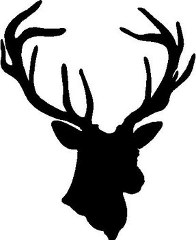Deer, Buck, Vinyl decal sticker