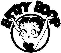 Sticker Betty Boop vinyl car Decal