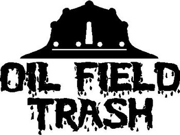 Rough Neck Oil Field Trash Vinyl Decal Sticker