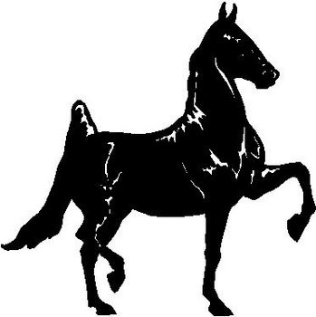 Horse, Vinyl cut decal Sticker