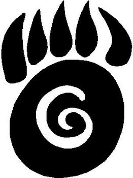 Bear Claw, Vinyl cut decal