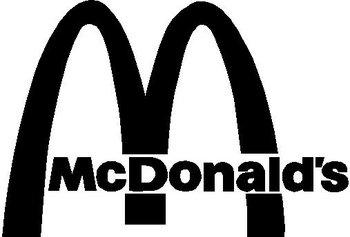 Mcdonalds Logo Vinyl Cut Decal