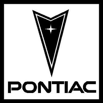 Pontiac Logo, Vinyl cut decal