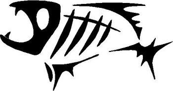 G Loomis Fish Vinyl Cut Decal
